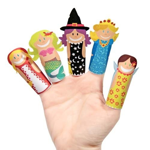 【pukaca手作益智玩具】手指玩偶系列 - 魔法少女