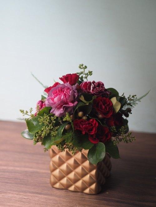 怎么制作手工盆花制作