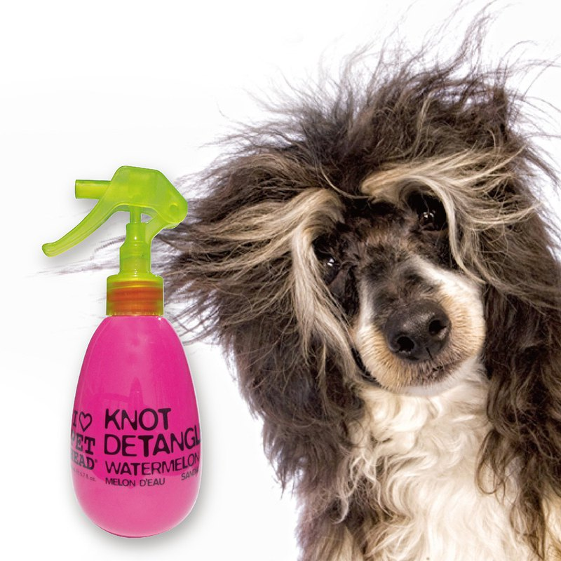 [A hair spray is not tangled] difficult dog hair repair spray 180ml
