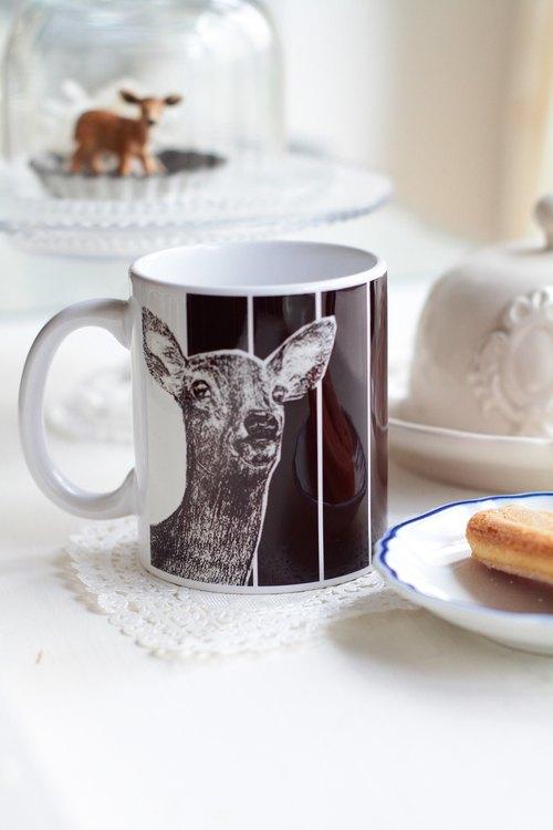 纸杯做的小动物鹿