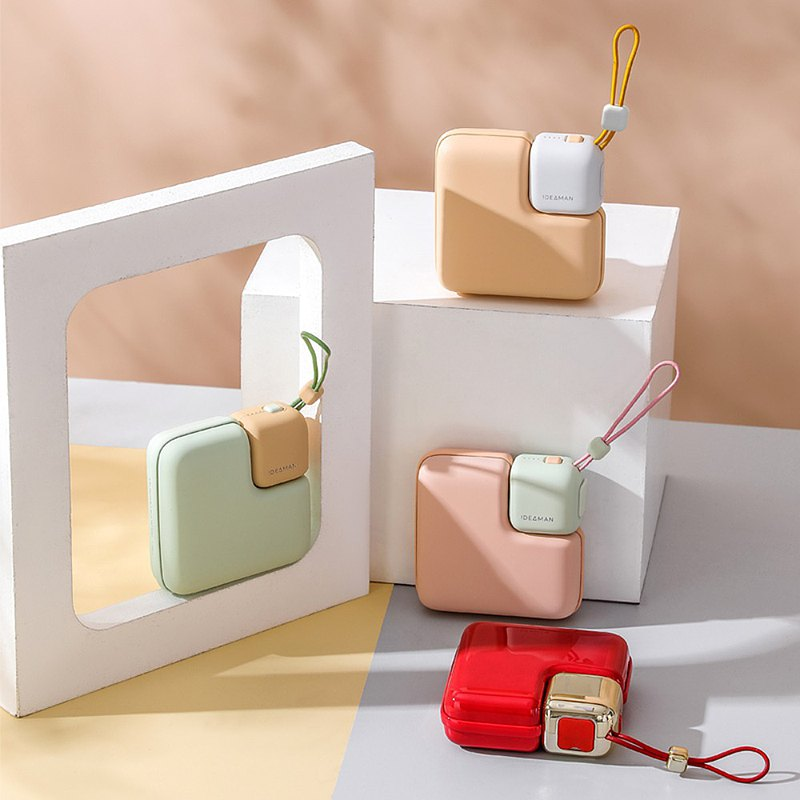 [A must-have for autumn and winter] iDeaman Sugar Hand Warmer Action Charger*Birthday Gift Christmas Gift*