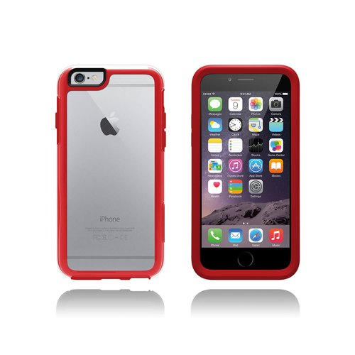 【iPhone 6 Plus/6s Plus】OtterBox Symmetry Clear 保護殼 透明紅水晶660543385721