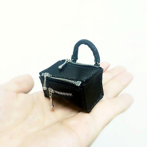 Givenchy Pandora 包微型皮革匙扣 鑰匙圈