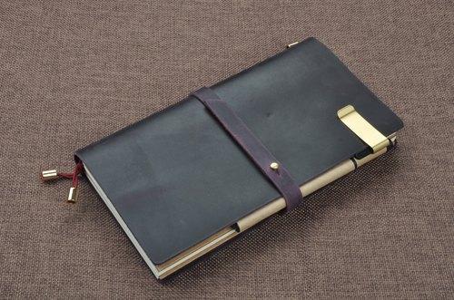 复古 头层牛皮 旅行笔记本 记事本 日记本 手帐 免费印制星座,十二