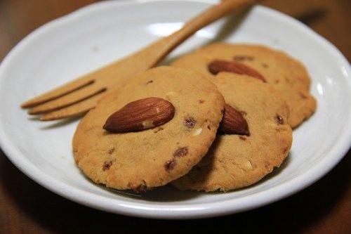 蔗香黑糖伴杏仁餅乾(5入)