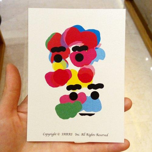 「彩色云朵」(可制作a3大小的海报) 生日卡 设计 著色 插画 绘本 卡片