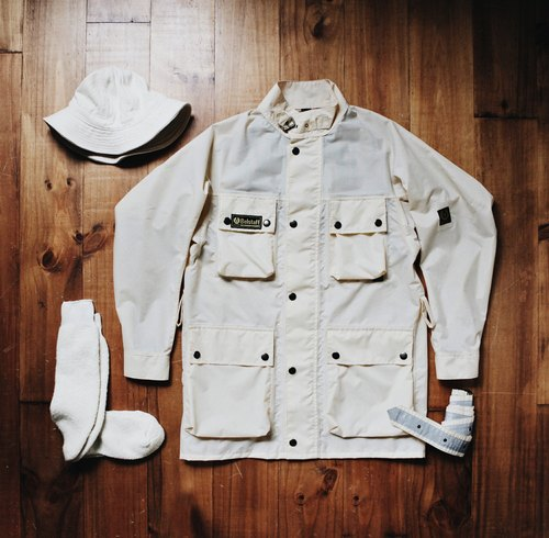 Rolling on [Vintage] CJ-3158 80's Belstaff nylon Jacket