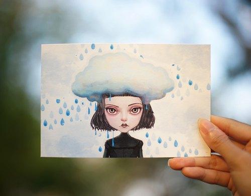 Kiddodog - Postcard - Sweet kiddo cloud.