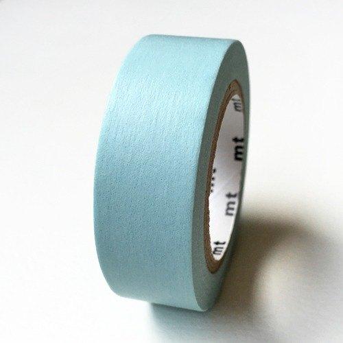 mt 和紙膠帶 Basic【素色-嬰兒藍 (MT01P191)】