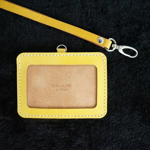 Guillaume 識別證套 票卡夾 證件夾 悠遊卡套 多色
