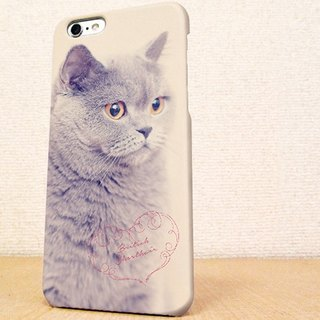 送料無料☆iPhone case GALAXY case ☆ British short hair phone case
