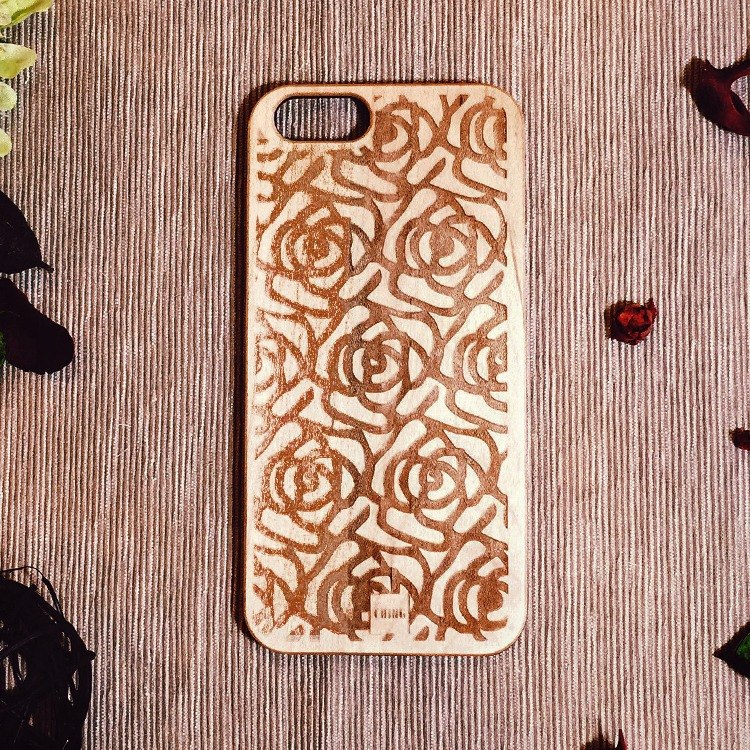 Green CHING newly opened Taiwan local Free shipping logs Muke exclusive customized mobile phone shell timeless rose pattern iPhone Limited (i5 / s / i6 / s / i6plus / s Samsung S4 / 5/6/7 Note 4/5 SONY Z4 / 5 LG G4 / 5)