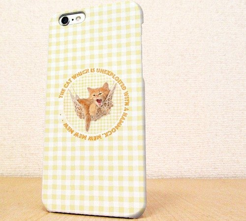 (Free shipping)iPhone case GALAXY case ☆The kitten which sleeps at a cot