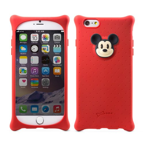 "[Buy one get one] Bone / iPhone 6 Plus Case Bubble 5.5 ""(Mickey)"