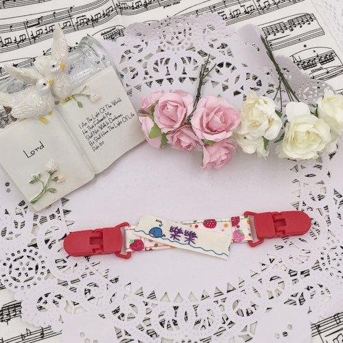 * Princess puff sugar - Hand-headed handkerchief ★ Universal clip clip pacifier clip ★ ★ ★ Name Article Kindergarten necessary Flag ★ E-36
