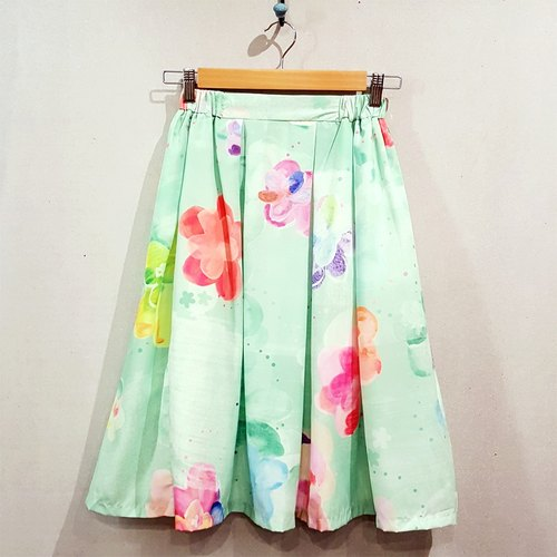 Floating River Knee Skirt + TIME SALE