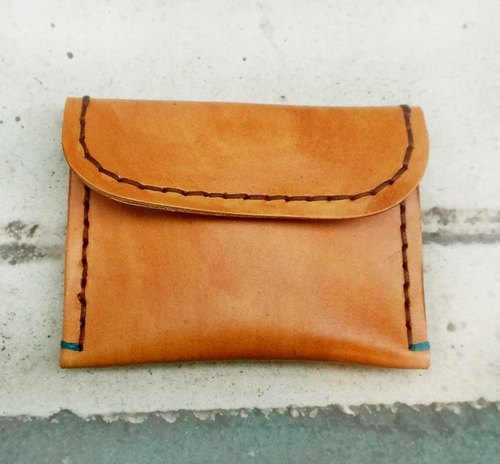 Sienna leather purse