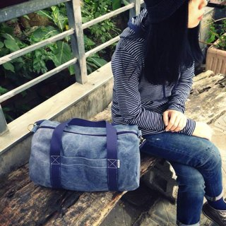 The meaning of travel / Boston bag / shoulder bag / Messenger bag / Backpack / Bag / Travel bag / Wash blue