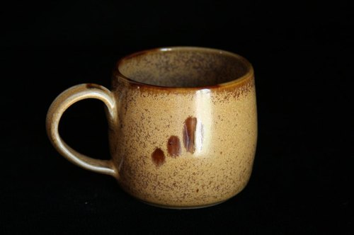 Honey brown crystalline Mug # 2022