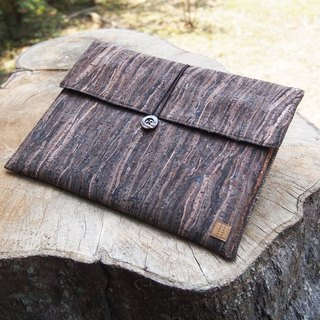 "Paralife Custom Size (6""-8"") Wooden Grain Cork tablet ipad mini case"