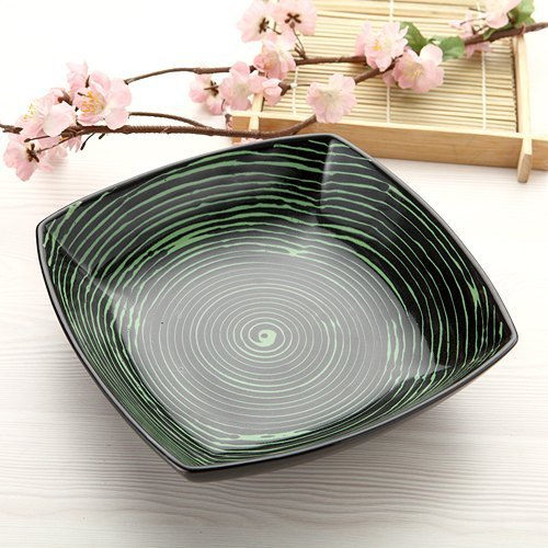 Glazed] generous salad bowl