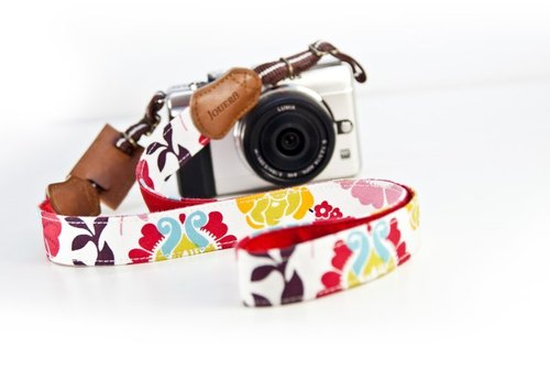 UV color camera strap - Fun narrow version