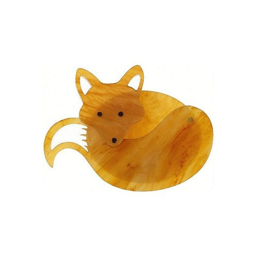 Tatty Devine pin - a small fox fox