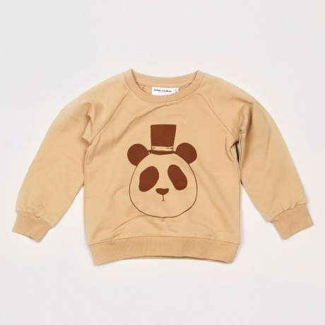 Sweden mini rodini panda little gentleman shirt (khaki)