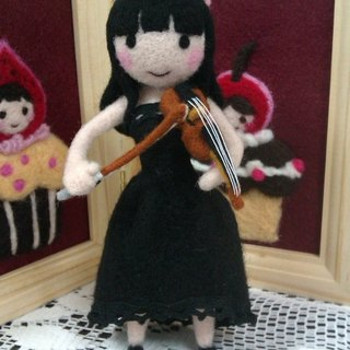 (On Hand) custom wool felt doll (small / single doll)