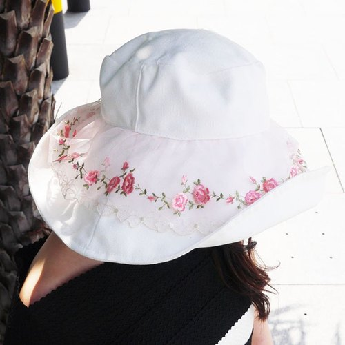 ATIPA Luxury Reversible Long Brim Sun Hat (Sun UV Protection)