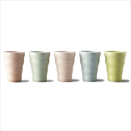 Japan Hand-made rainbow cup set