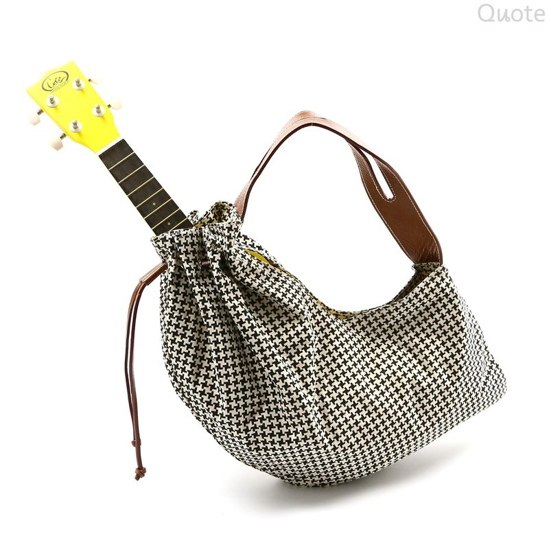 [Quote Studio] saddle bag Houndstooth :: ::