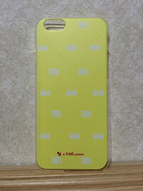iPhone- Phone Case - Camera pat yellow