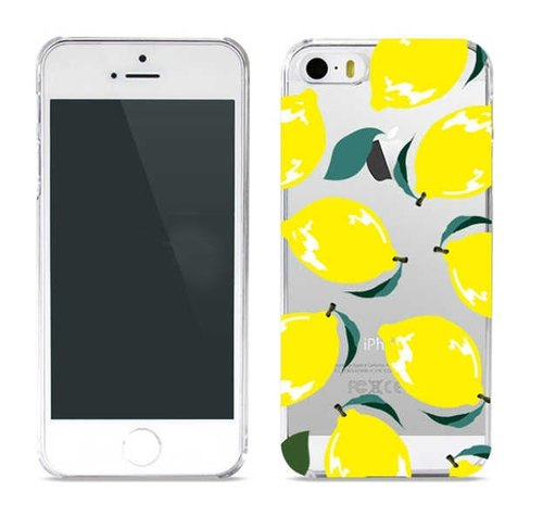 Girl apartment :: wiggle wiggle x iphone 5 / 5s transparent shell phone - Lemon