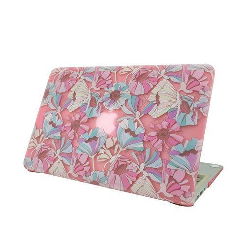 "Spring reversal GO- POP series - all the way to full bloom [] ""Macbook Pro / Air 13.3 inch special"" Crystal Case (frosted - light pink)"
