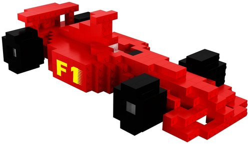 Master Builder - Racing (F1 FACING CAR)
