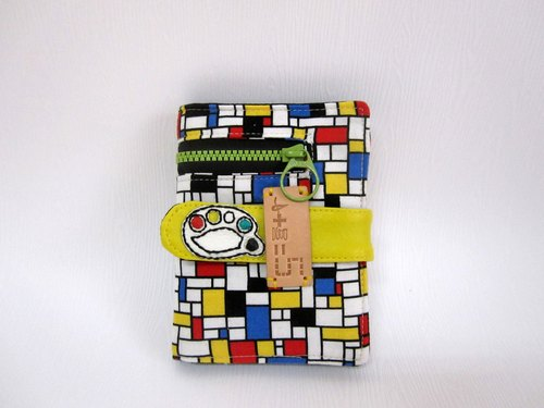 *1 + 1 = 5 / Mondrian palette cloth short clip*