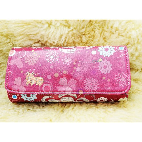 RedCow original pattern red patent clutch (comes with subsection wrist band)