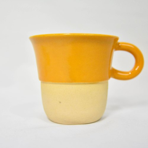 Double cream with mango mug _ _ fair trade