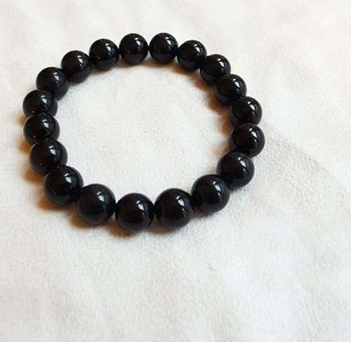 ☽ Qi Xi hand for ☽ 10mm obsidian bracelet