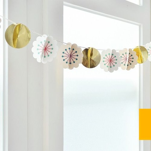 Dessin x Jamstudio-Jam party happy flowers ornaments, JSD79428