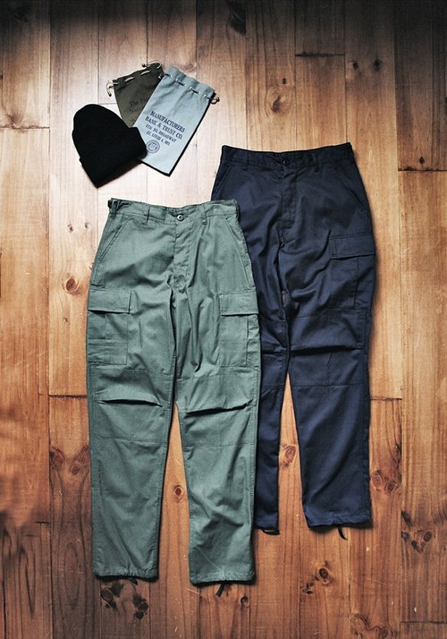 Rolling on - ROTHCO military trousers USARMY Battle Dress Uniform Trousers Army Green