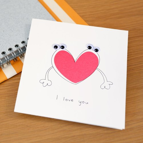 Greeting Card - I Love You