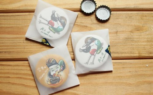 (Collectively designated stores to buy 5 sets) pitta magnet opener set of two (rice wine flavor / Beery)