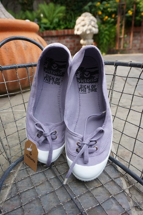 victoria Spanish nationals handmade shoes - light purple LILA (baby shoes)