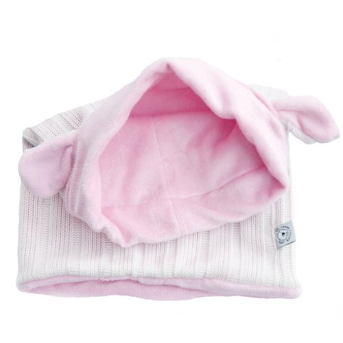 [European] system Boska's Teddies hat around - children style (white / pink)