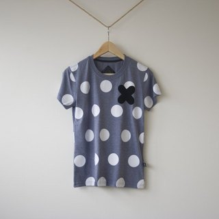 [Not Mr.Right] really do not really recommend the dot T-shirt (dark blue twist)