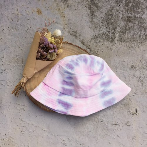 Tie dye/Bucket hat/ fisherman hat [Flower]