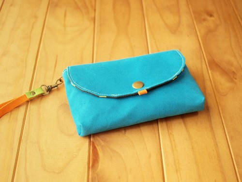 1pinfun packet people Clutch turquoise *