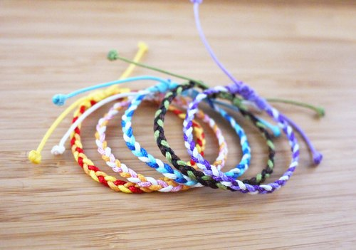 [A0005] composite wire braid bracelet